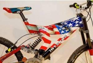 Exhibit A: Shaun Palmer's Kamikaze bike. Credit: https://www.facebook.com/KamikazeBikeGames
