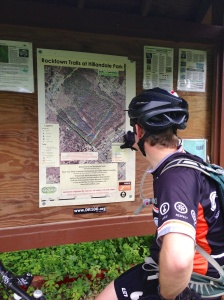 Scoping out the Hillandale Map