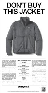 patagonia, don't buy this jacket, patagonia black friday