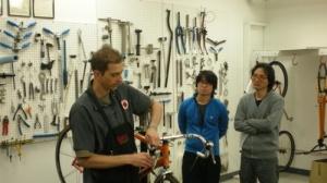 bike tuning class, bicycle tuning class