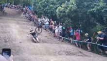 cairns world cup crash