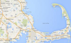 southeastern Massachusetts  map