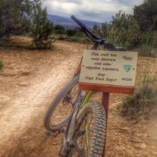 keep singletrack single